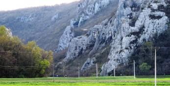 Climbing area Kamena Vrata, Buzet Croatia