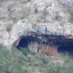 Left cave in Hallelujah