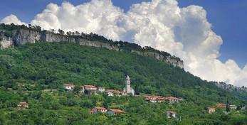 Climbing area Crni kal, Osp Slovenia