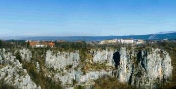 Climbing area Risnik, Divaca Slovenia   Climb Istria