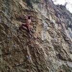 Great days for Anze Varga in Osp, Slovenia