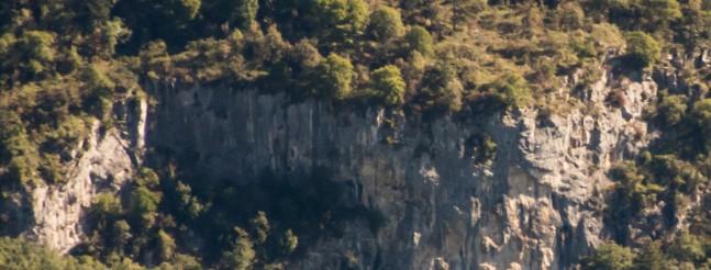 New crag on Karst edge - Predloka