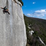 New hard route in Dvigrad, Croatia