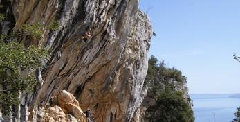 Sbisi & The Core 8c+ in Medveja, Croatia
