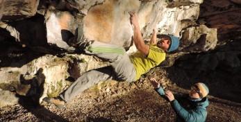 Urh Cehovin bouldering Crnotice