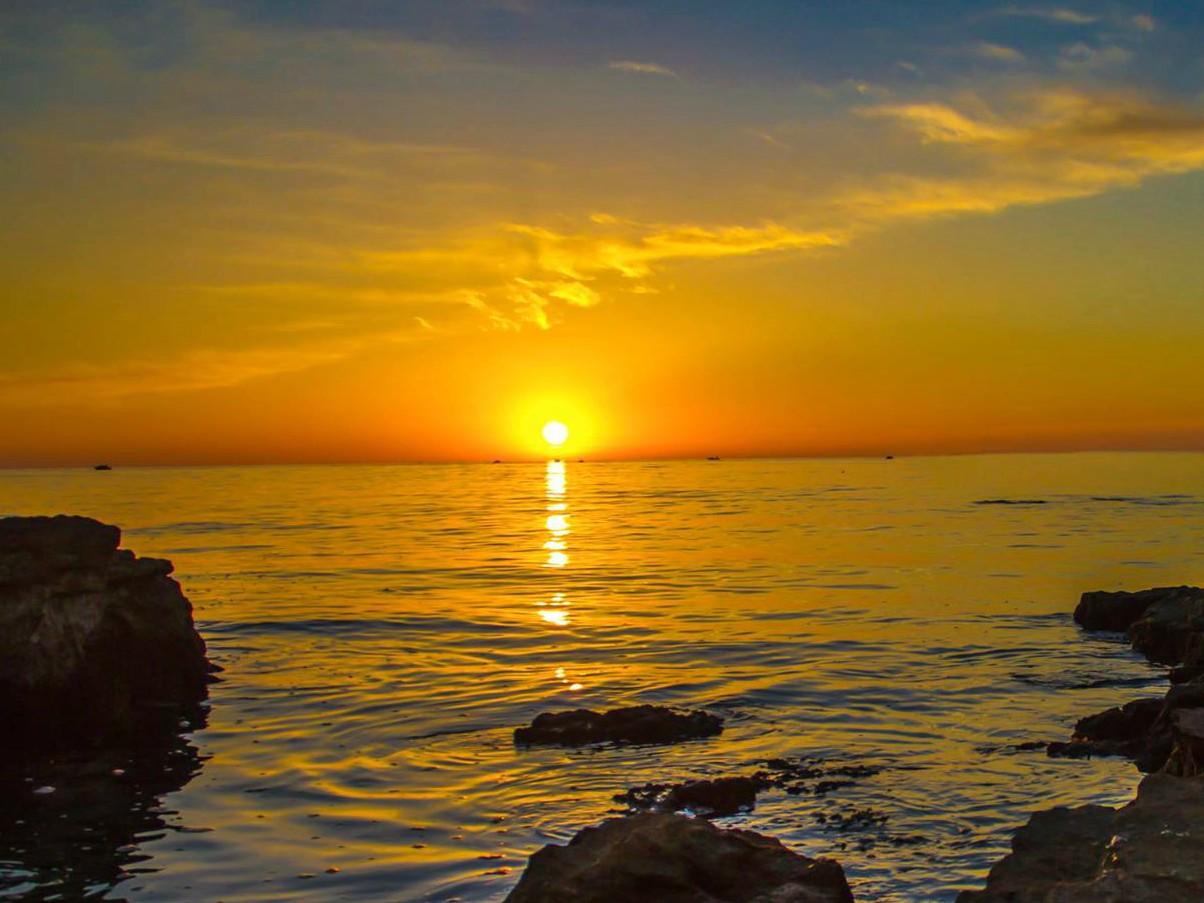 Winter sun in Istria