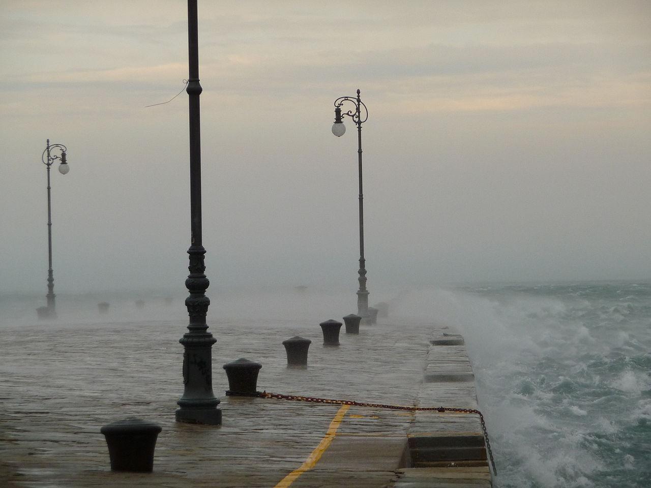 Bora in Trieste