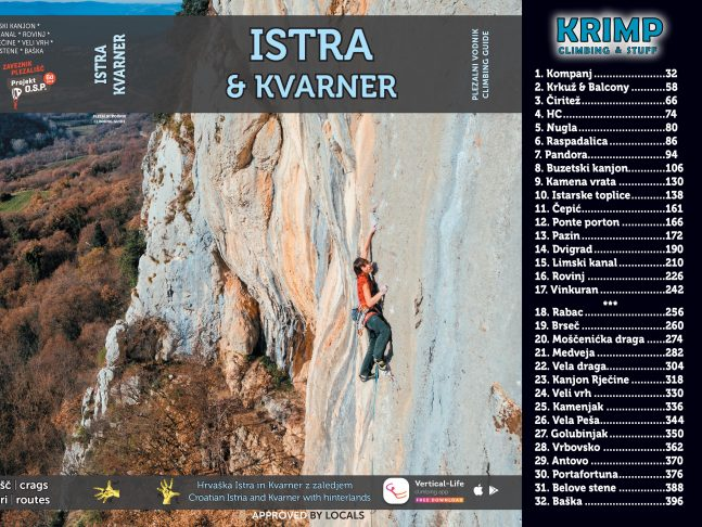 Climbing guide Istra & Kvarner
