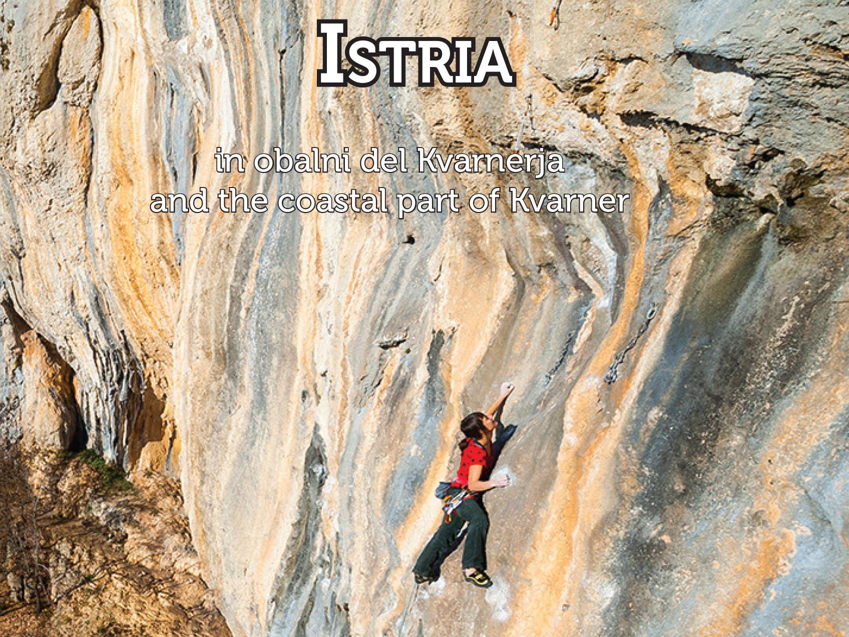 Climbing guidebook Istria